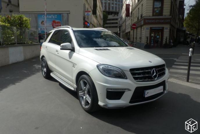 Mercedes Classe ML 6.3 AMG V8 BITURBO